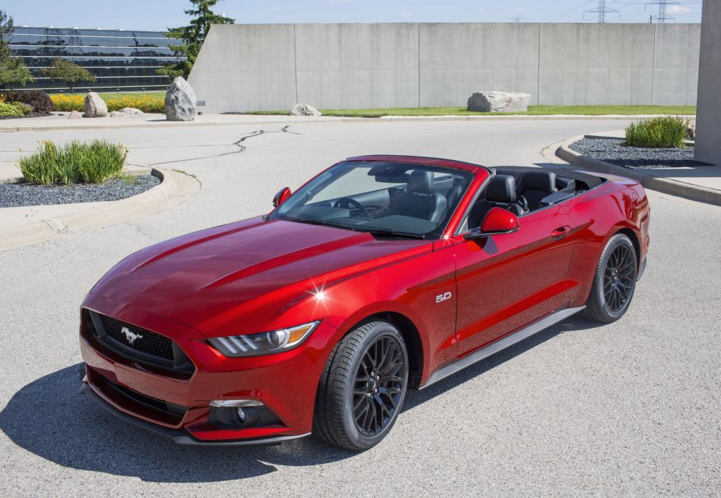 2015 Ford Mustang G-T Convertible AU-spec muscle wallpaper