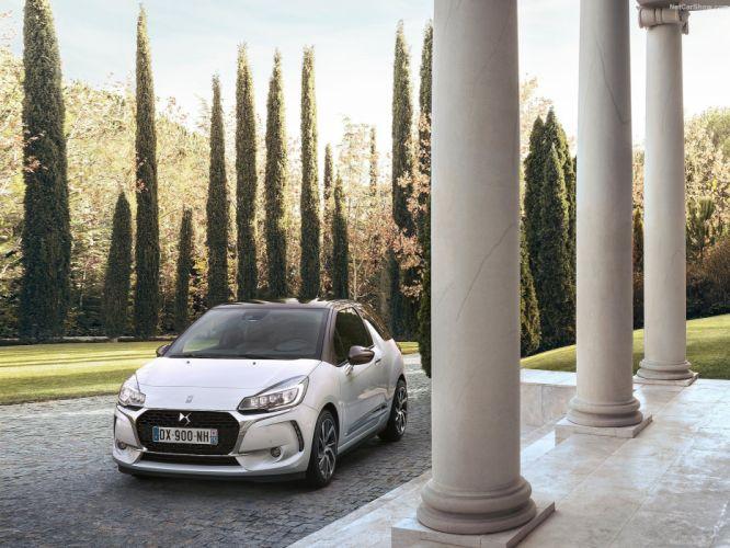 DS3 citroen cars 2016 white wallpaper