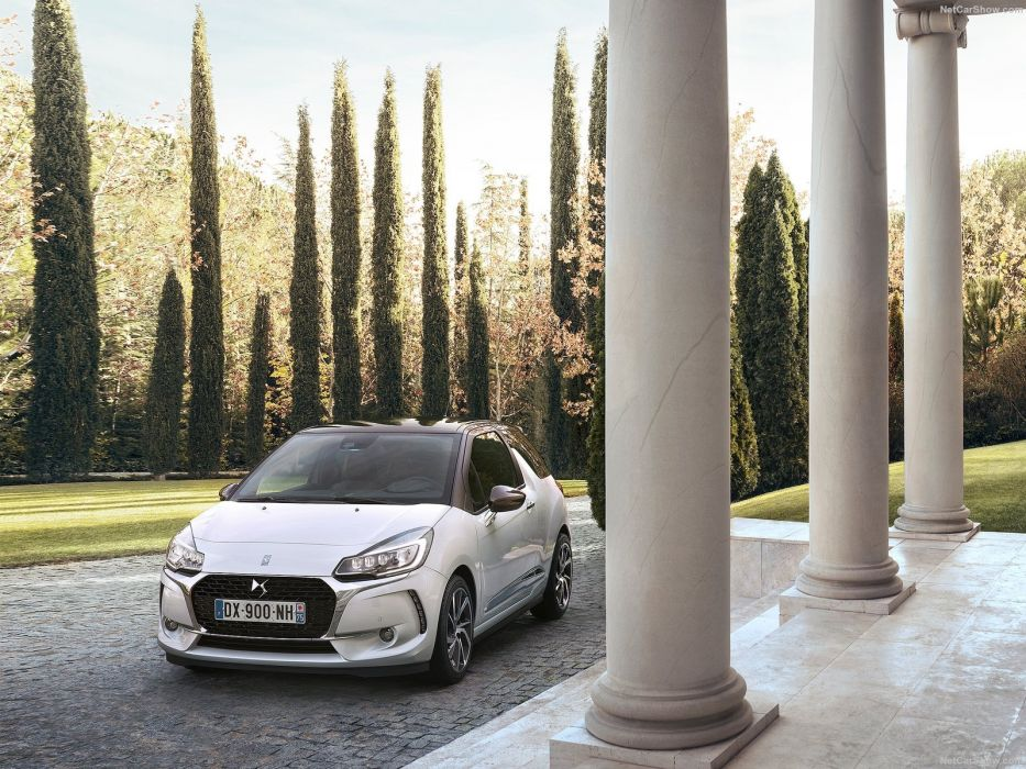 DS3 citroen cars 2016 white wallpaper