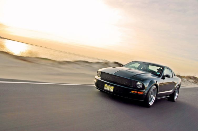 2009 Ford Bullitt Mustang muscle hot rod rods wallpaper
