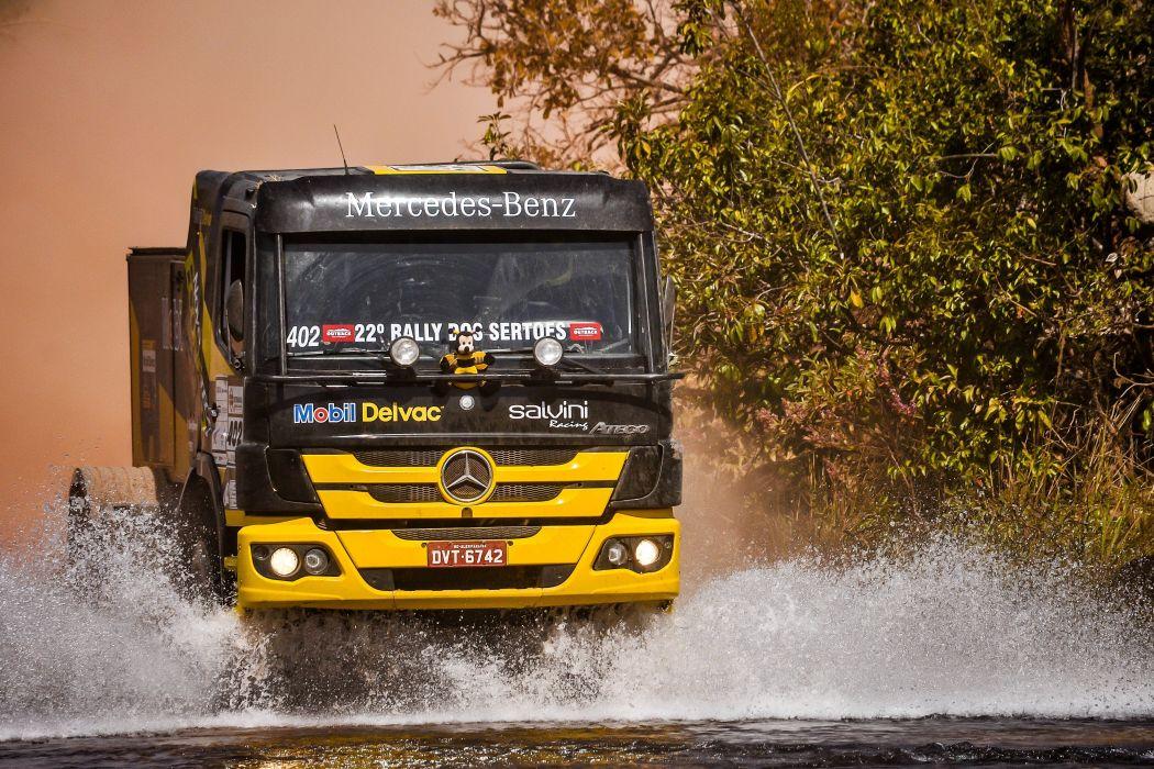 2015 Mercedes Benz Atego 1725 Rally Truck offroad race racing semi tractor 4x4 wallpaper