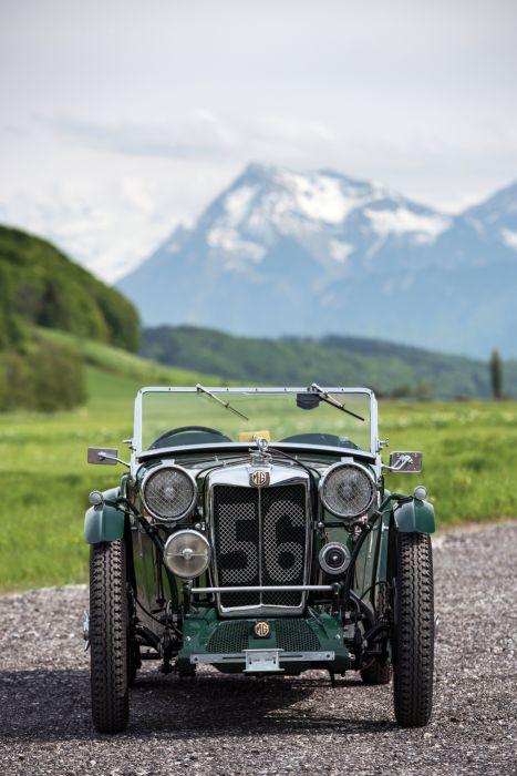 1934 MG PA PB LeMans Works Racing race vintage pa-pb le-mans m-g wallpaper