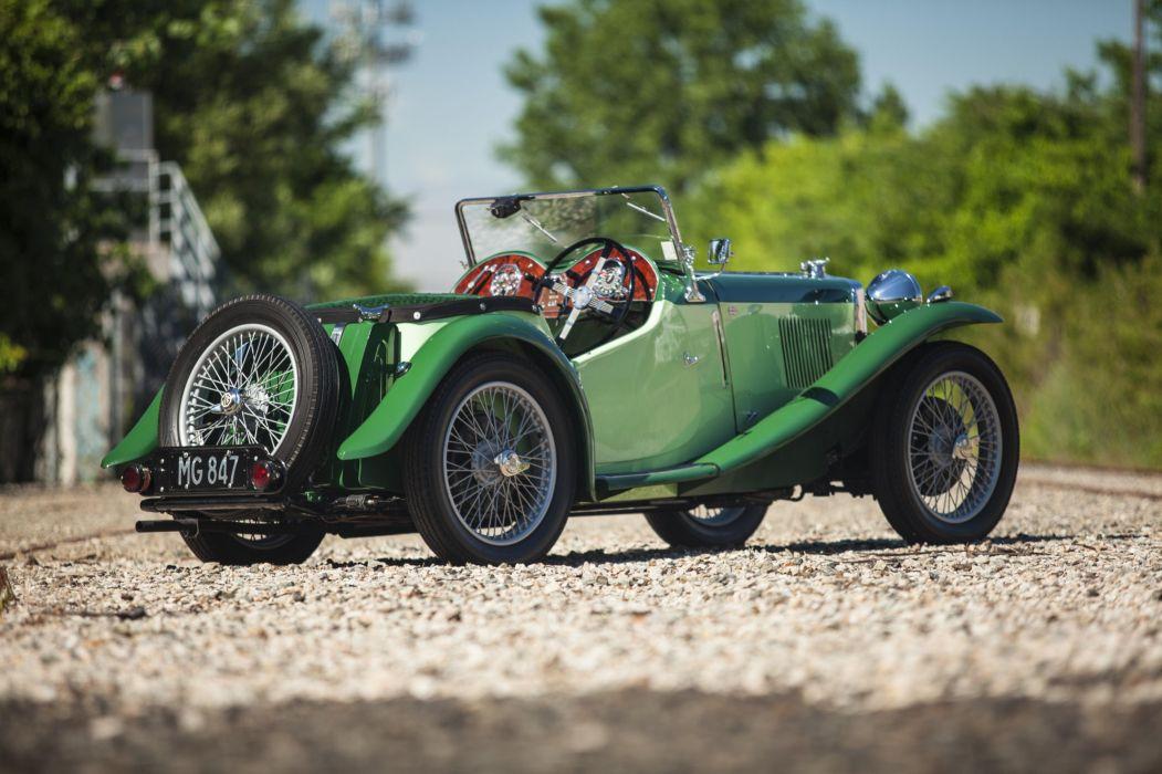 1935 MG PB Midget vintage race racing rally m-g p-b wallpaper
