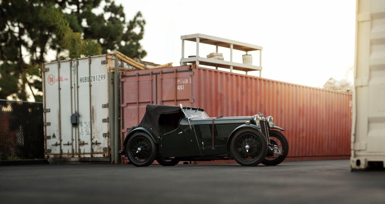 1933 MG L1 Magna vintage luxury m-g l-1 tourer wallpaper