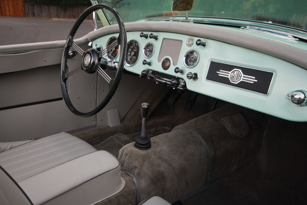 1959 MGA 1600 MkI convertible retro british wallpaper