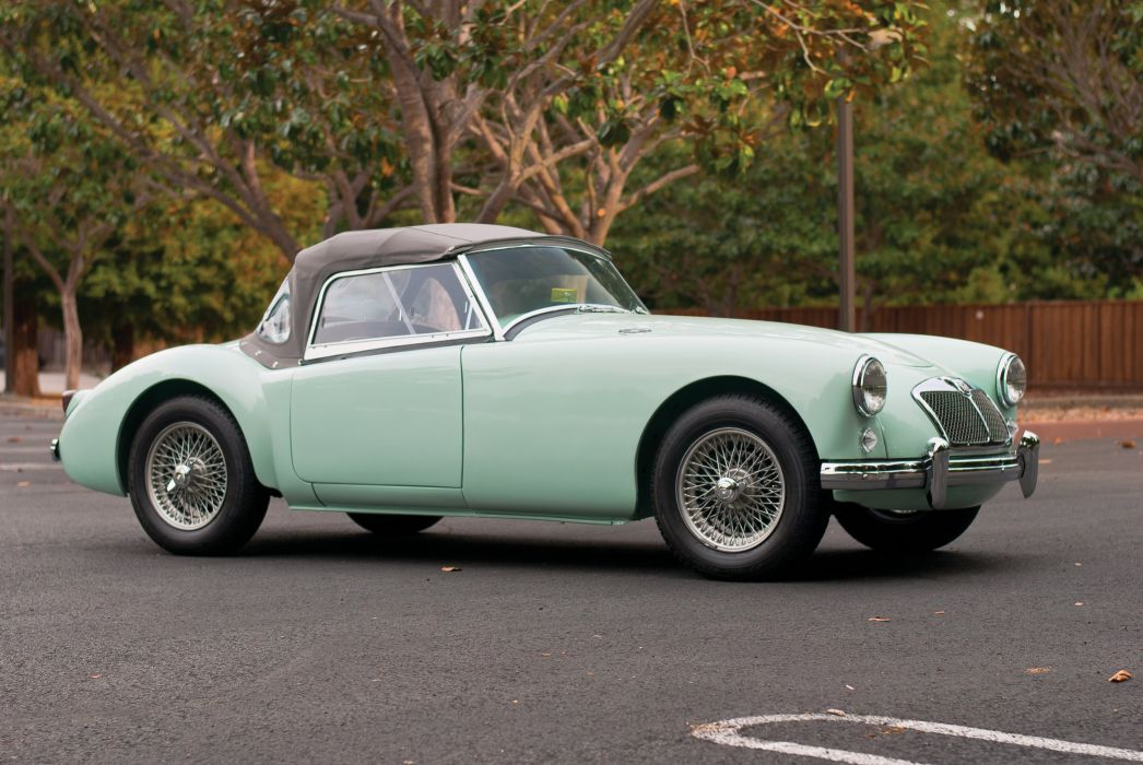 1959 MGA 1600 MkI convertible retro british wallpaper