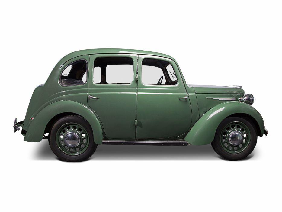 1941 Austin Model-8 4-door Saloon retro wallpaper
