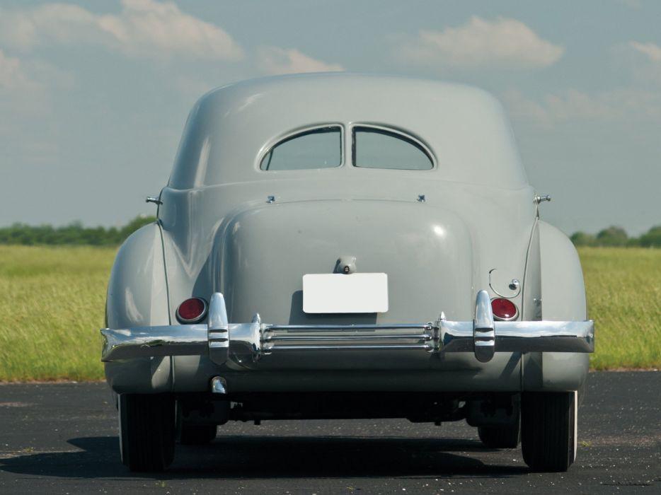 1937 Cord 812 Supercharged Beverly Sedan Bustlback luxury vintage wallpaper