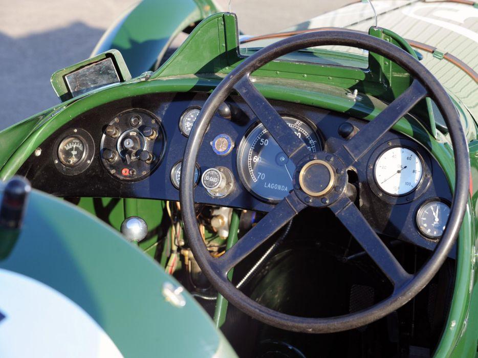 1939 Lagonda V12 Le-Mans Team Car vintage race racing rally wallpaper