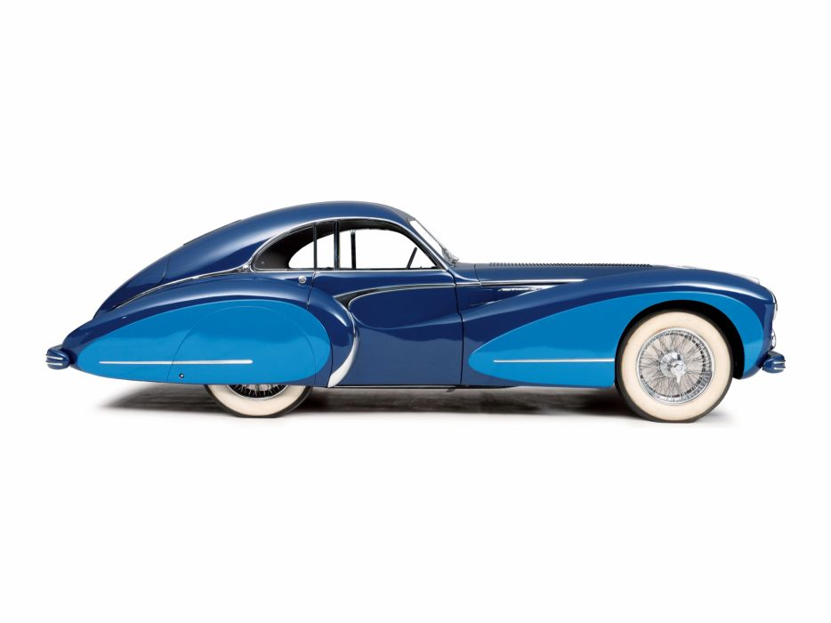1948 Talbot Lago T26 G-S Coupe par Saoutchik retro luxury wallpaper