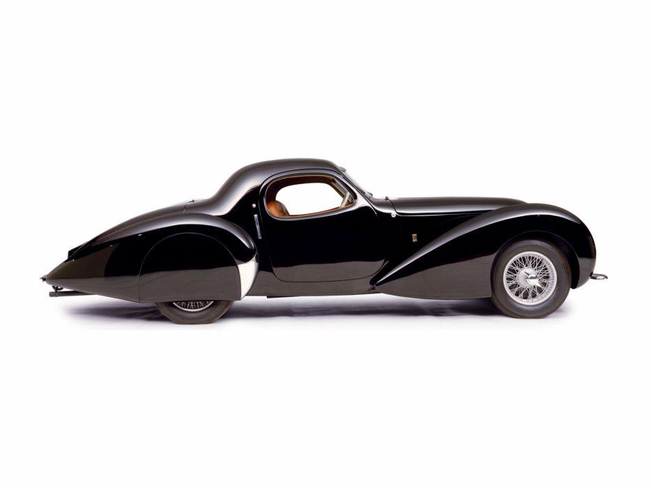 1946 Delahaye 135 M-S Coupe par Portout luxury retro wallpaper