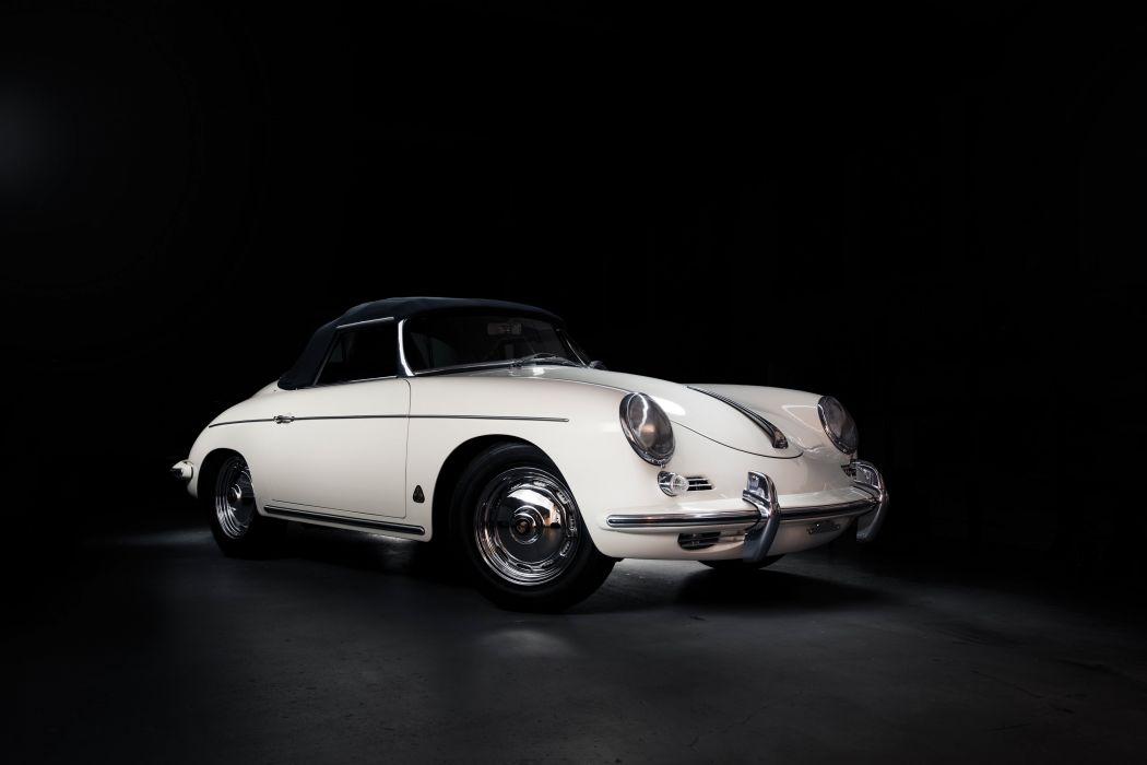 1962 Porsche 356B 1600 Super-90 Roadster Drauz T-5 classic wallpaper