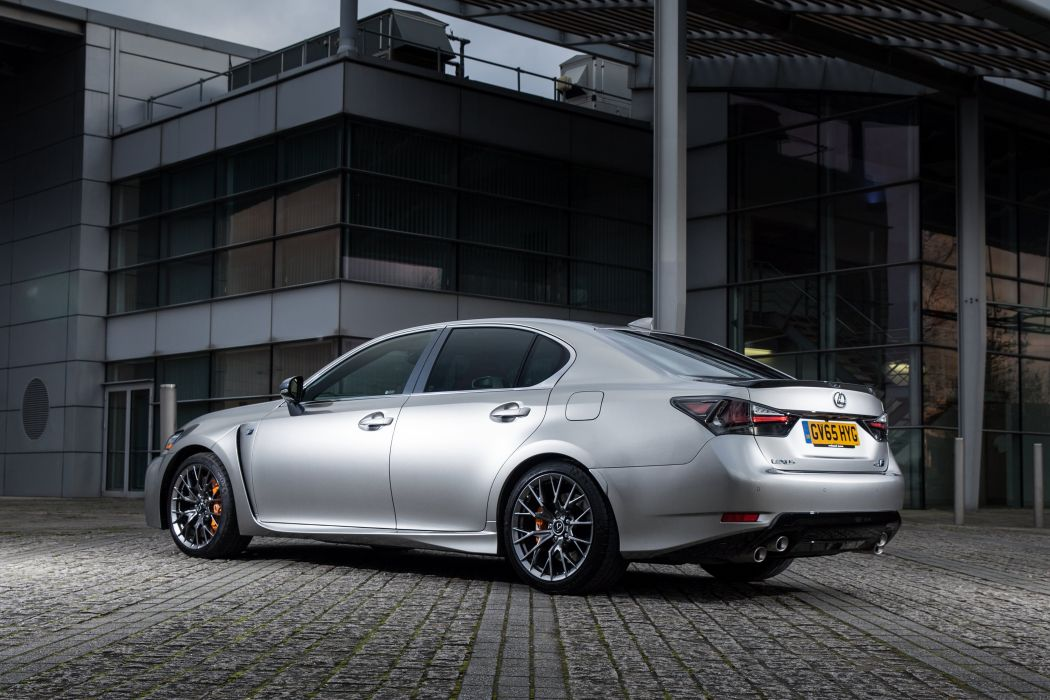 2015 Lexus GSF UK-spec wallpaper