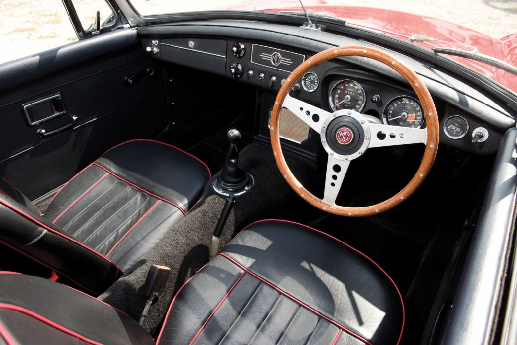 1963 MGB Roadster british classic convertible m-g wallpaper