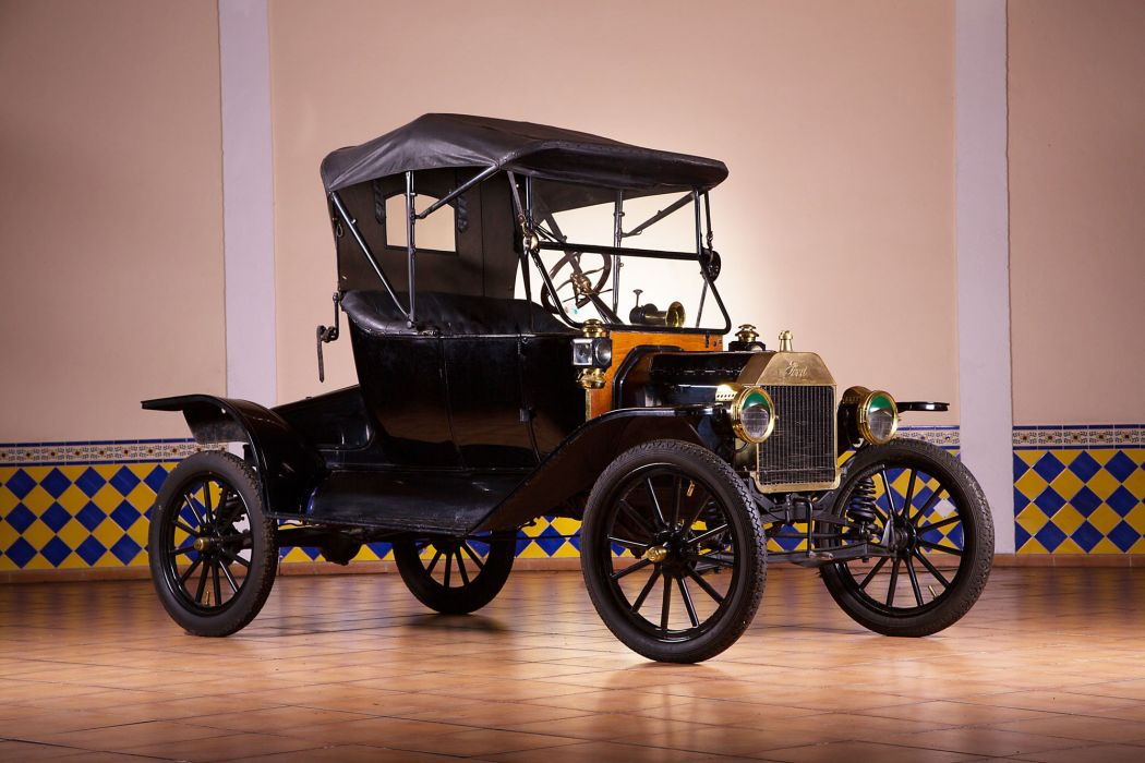 1913 Ford Model-T Runabout vintage wallpaper