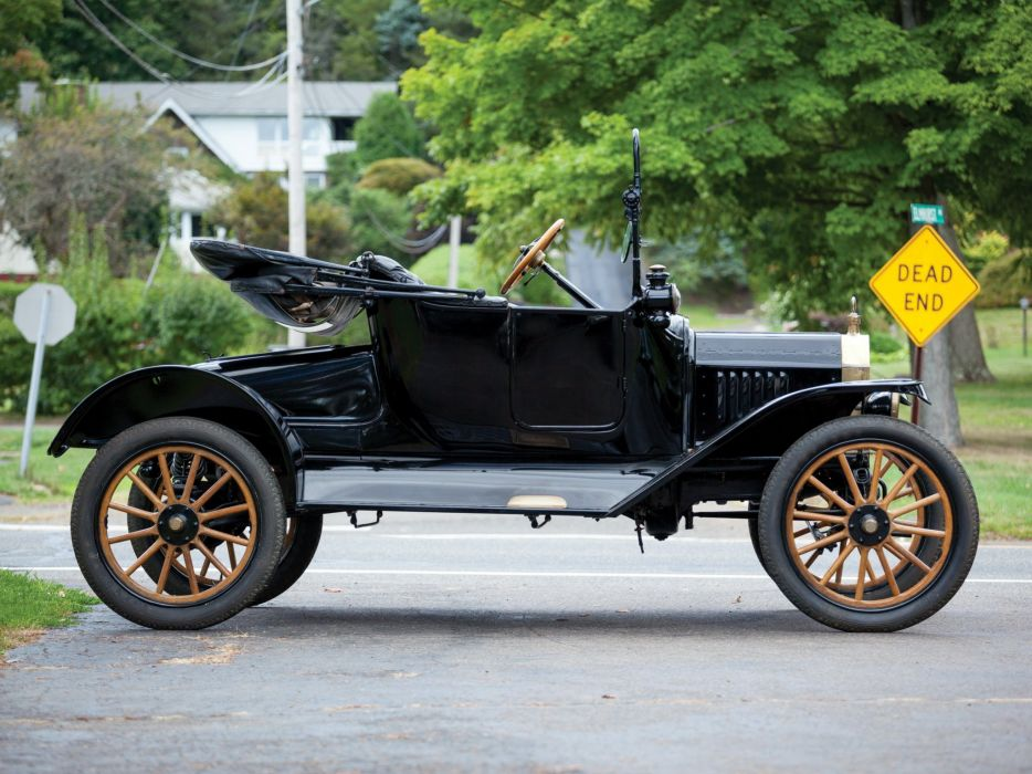 1915 Ford Model-T Runabout vintage wallpaper