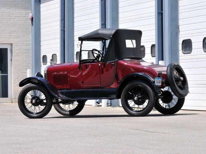 1927 Ford Model-T Roadster vintage wallpaper