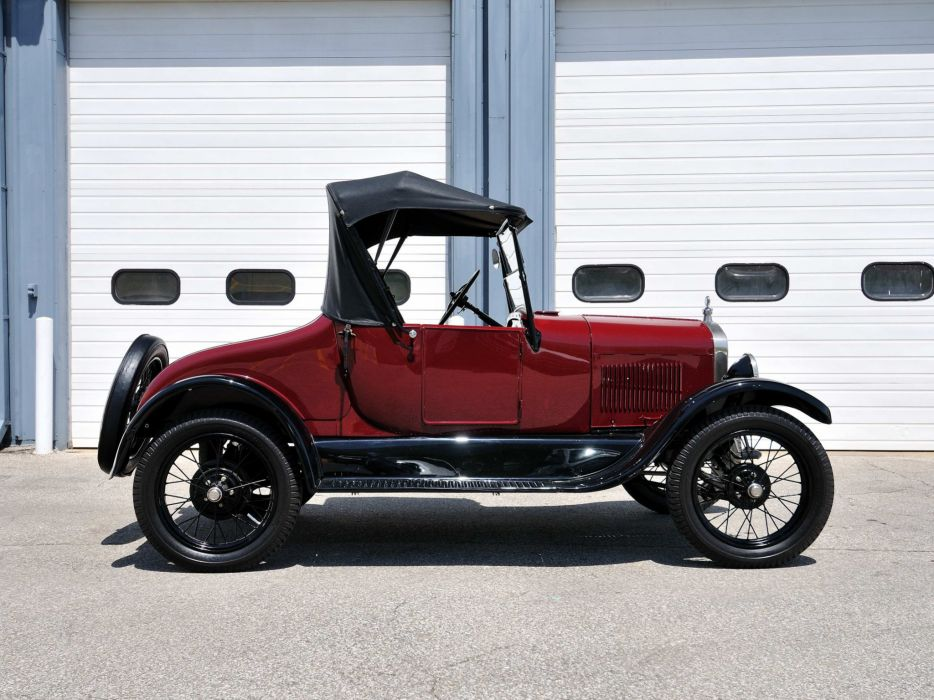 1927 Ford Model-T Roadster vintage wallpaper