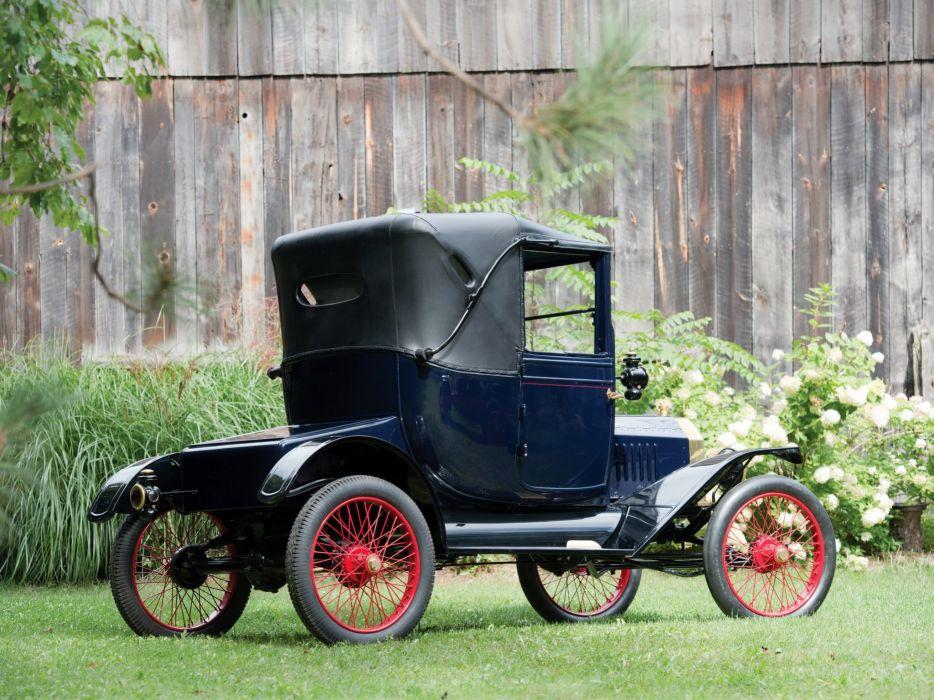 1915 Ford Model-T Coupelet vintage wallpaper