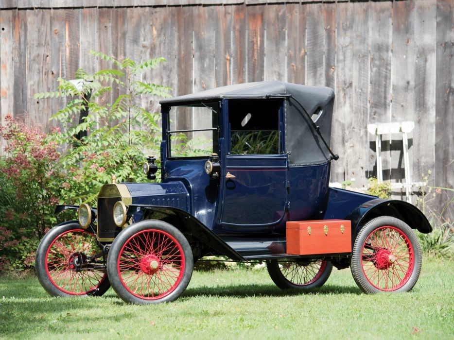 1915 Ford Model-T Coupelet vintage wallpaper