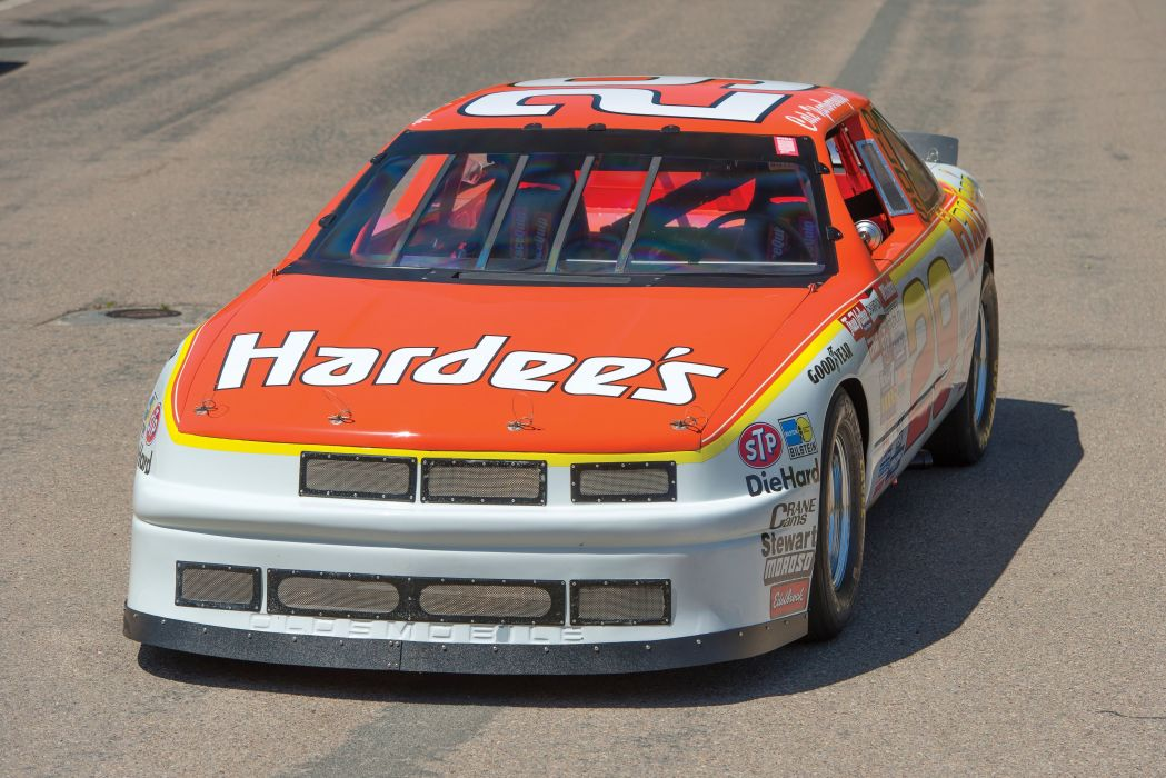 1987 Hutcherson Pagan Oldsmobile Cutlass Supreme NASCAR Race racing wallpaper