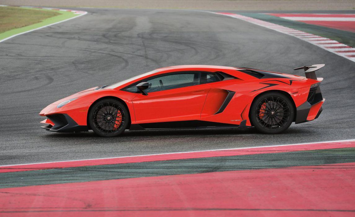2015 Lamborghini Aventador LP750-4 SuperVeloce US-spec supercar wallpaper