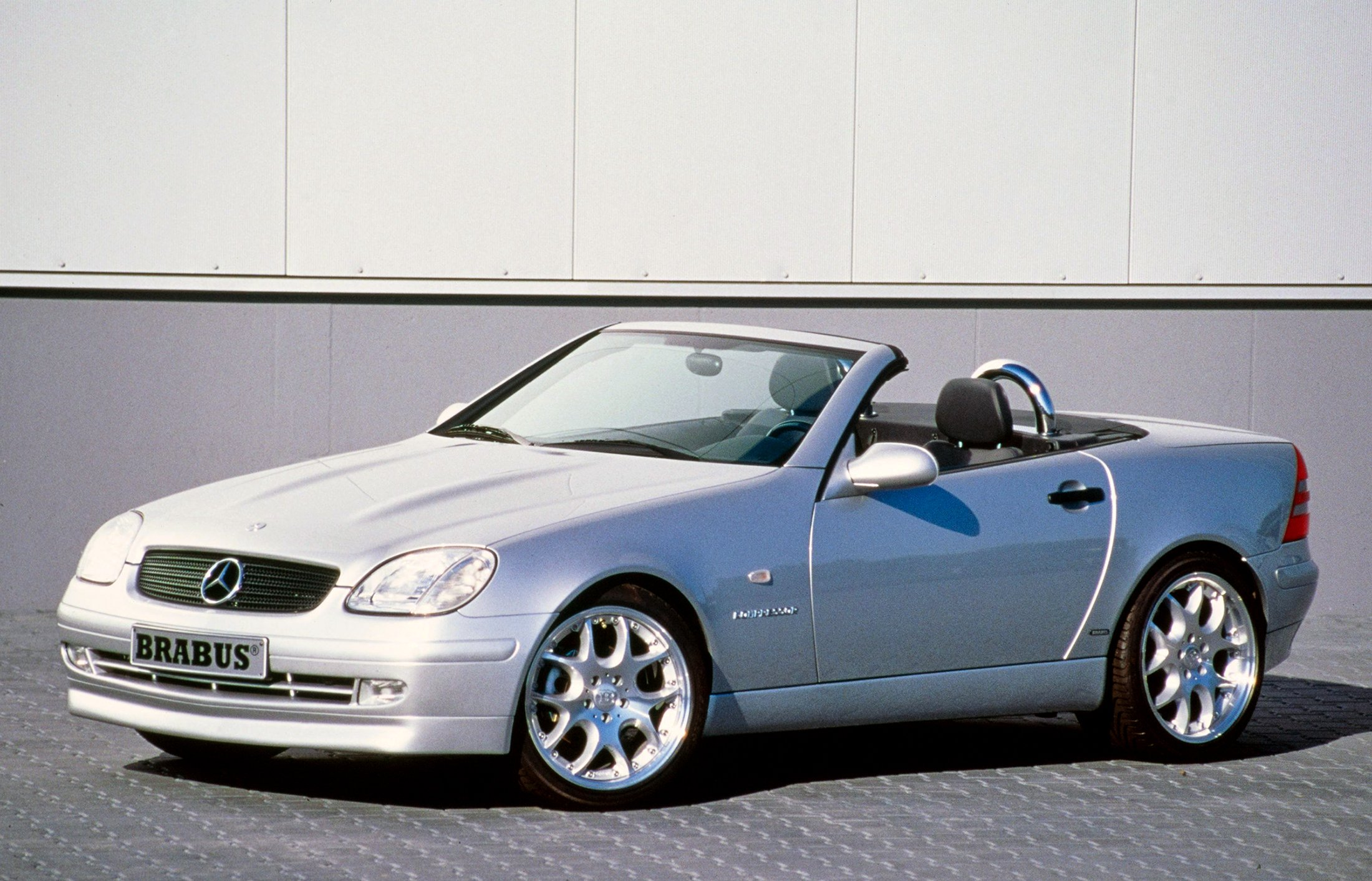 2000 brabus mercedes benz slk klasse r170 tuning wallpaper. Black Bedroom Furniture Sets. Home Design Ideas
