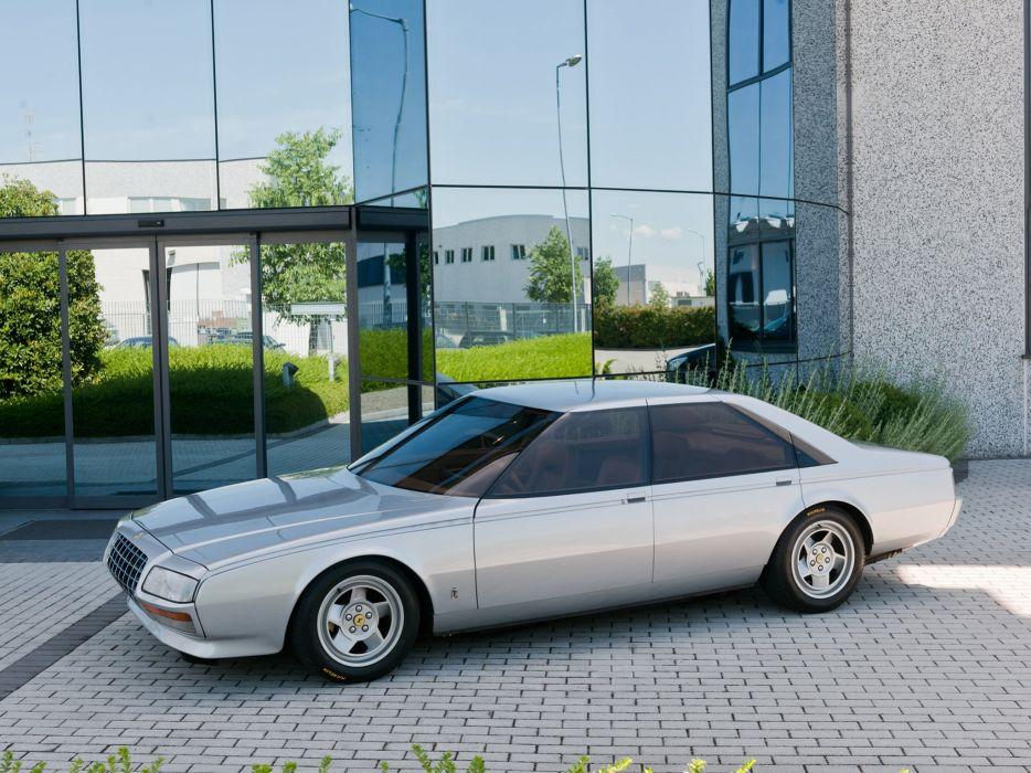 1980 Ferrari Pinin Pininfarina supercar wallpaper