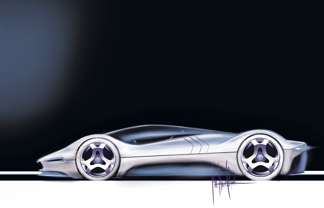 2005 Maserati Birdcage 75th Concept Pininfarina supercar wallpaper