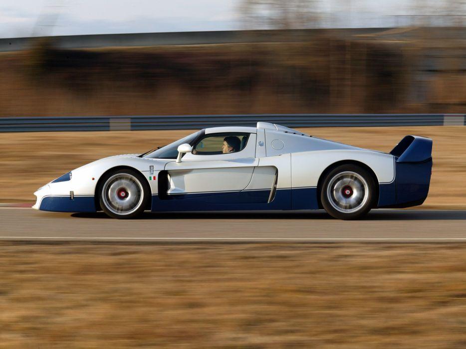 2005 Maserati MC12 Italdesign supercar wallpaper