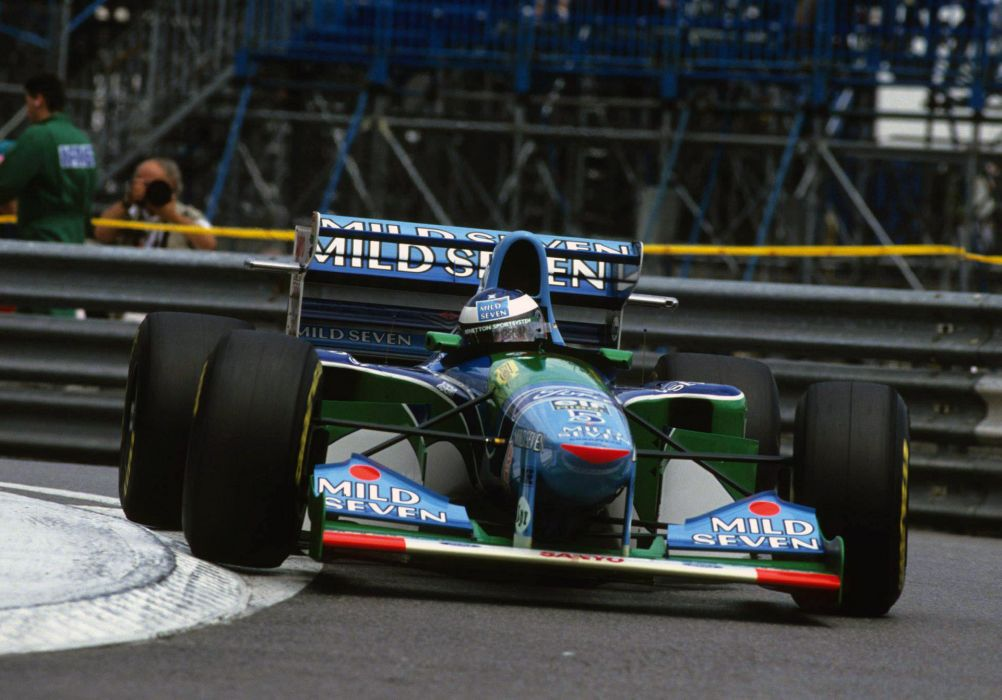 1994 Benetton B194 F-1 formula race racing wallpaper
