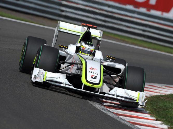 2009 Brawn BGP 001 F-1 formula race racing wallpaper