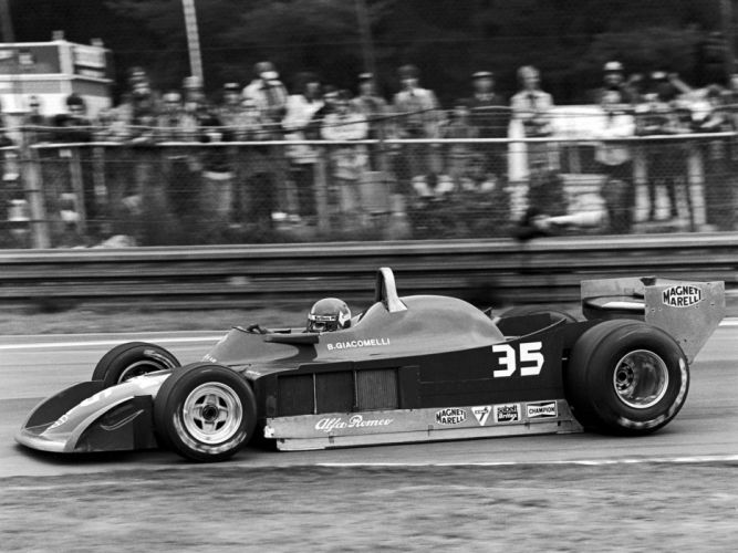 1979 Alfa Romeo 177 F-1 formula race racing wallpaper