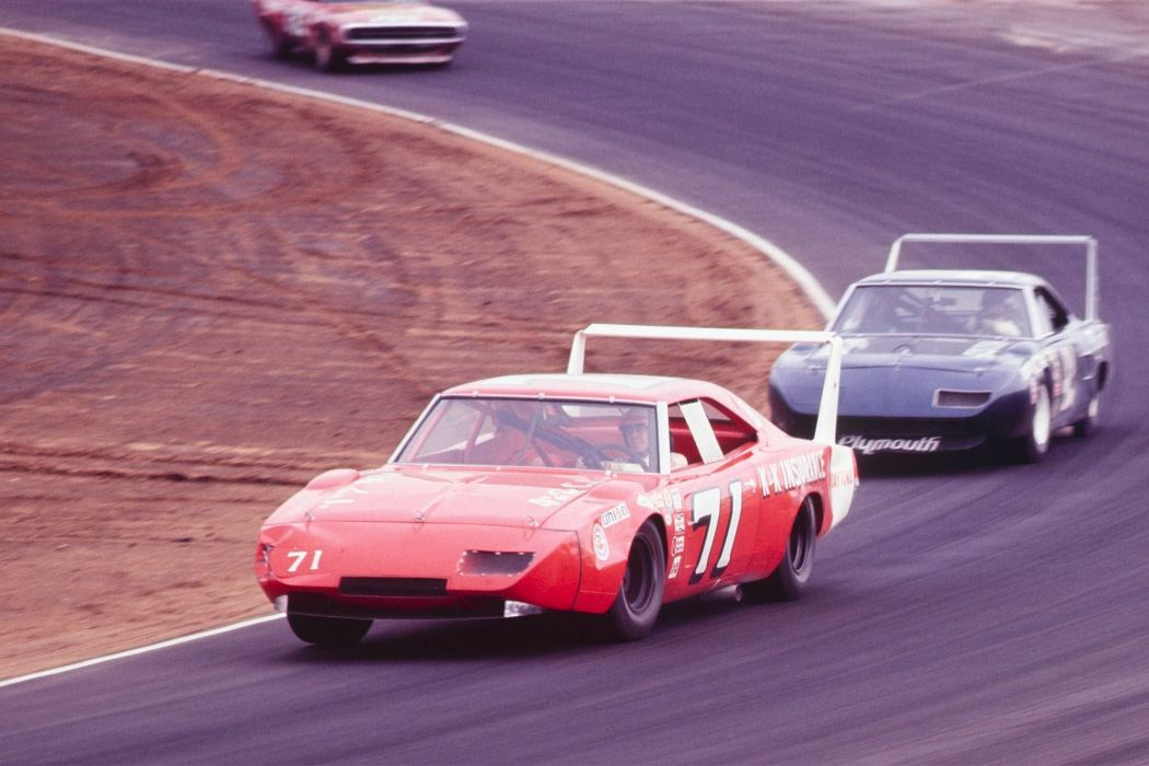 1969 Dodge Daytona Charger NASCAR race racing classic wallpaper