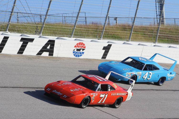 1969 Dodge Daytona Charger NASCAR race racing classic wallpaper
