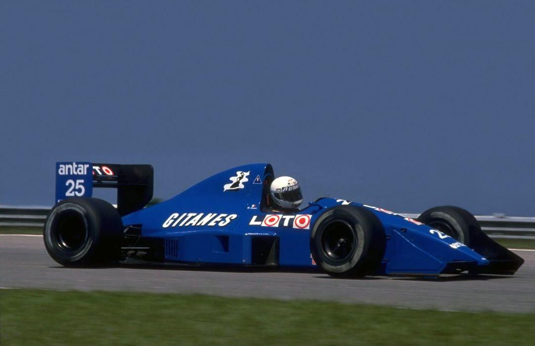 1989 Ligier Ford JS33 F-1 formula race racing wallpaper