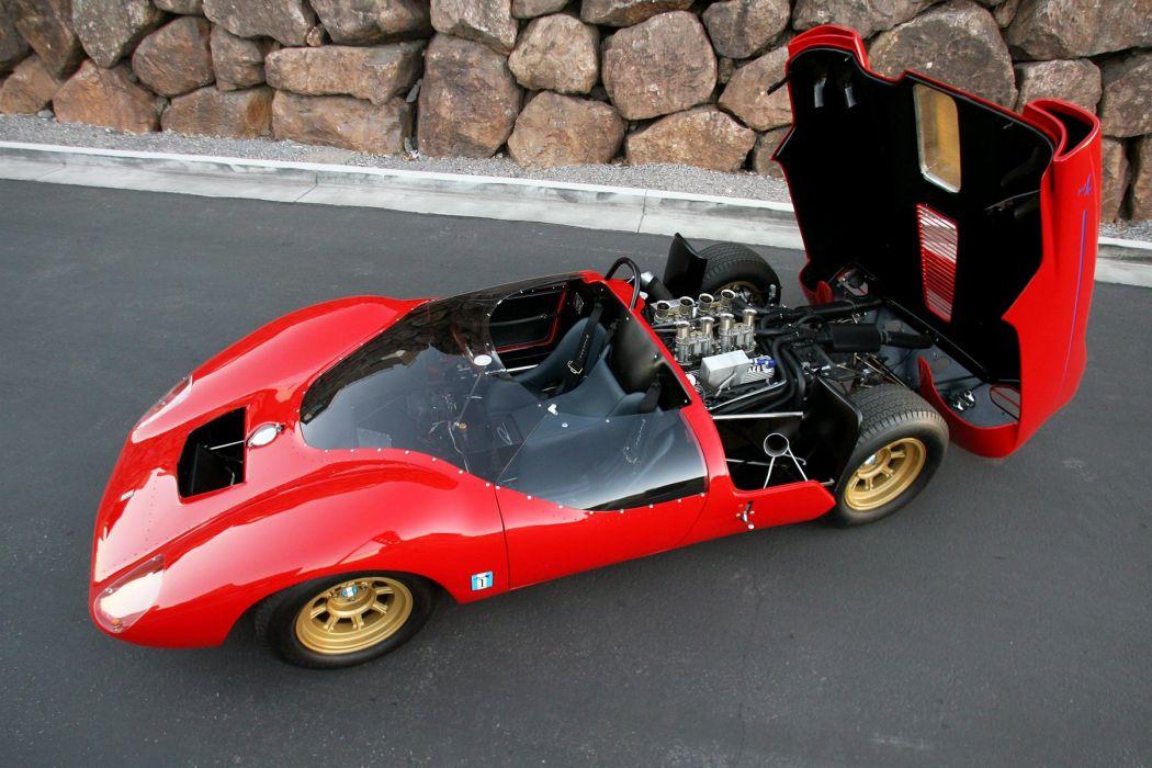 1965 De-Tomaso Sport 5000 Fantuzzi Tomaso classic supercar wallpaper