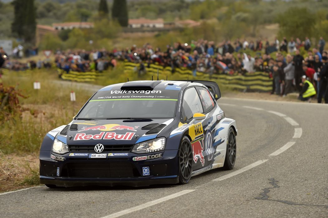 2015 Volkswagen Polo R WRC Typ-6R rally race racing wallpaper