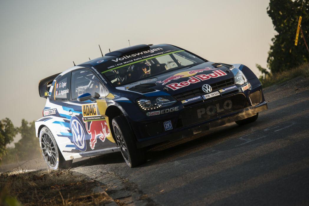 2015 Volkswagen Polo R WRC Typ-6R rally race racing wallpaper