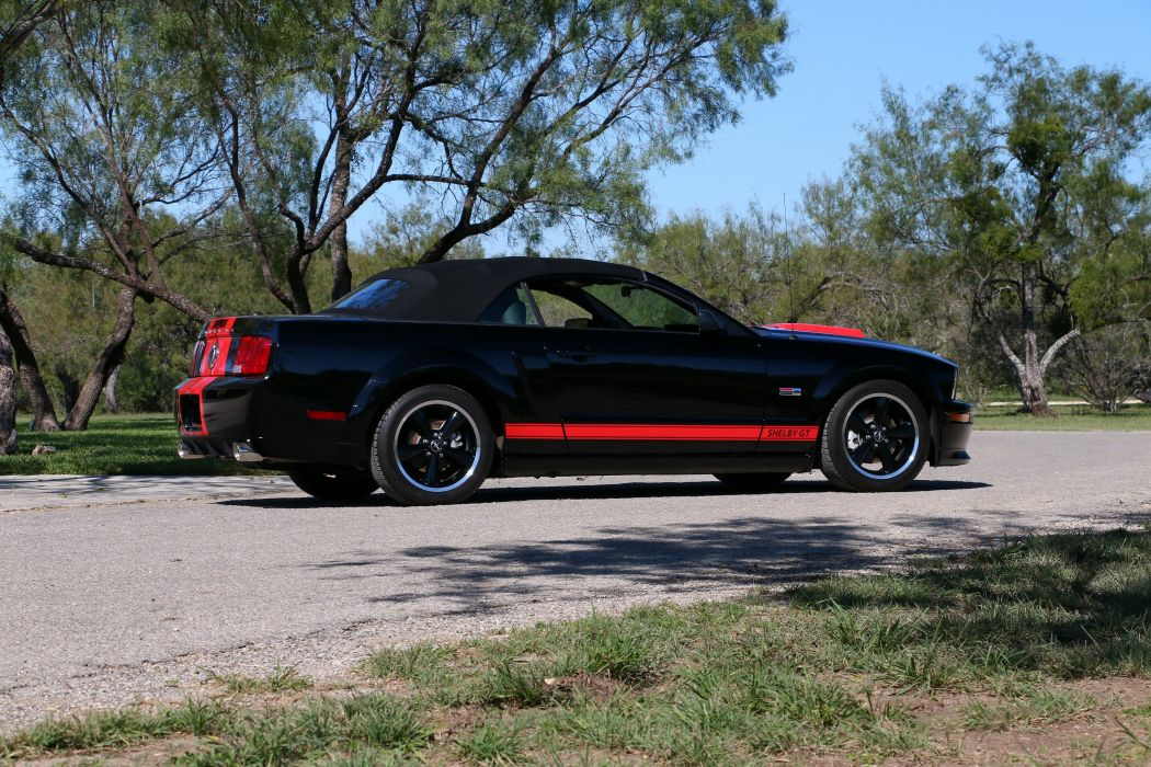 2008 Shelby GT Barrett-Jackson Limited Edition Convertible muscle g-t ford mustang cobra wallpaper