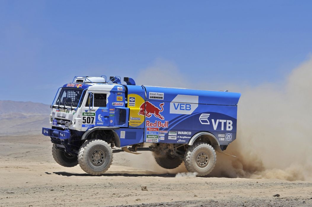 2014 Kamaz 4326-9 V-K 4x4 offroad race racing rally semi tractor dakar wallpaper