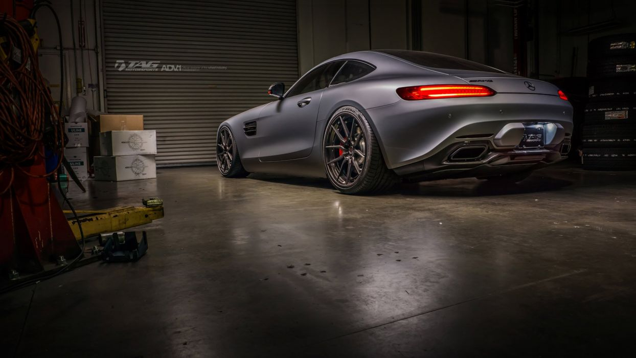 Mercedes Benz AMG GT-S ADV1 wheels coupe cars wallpaper