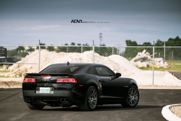 Chevrolet Camaro SS ADV1 wheels black cars wallpaper