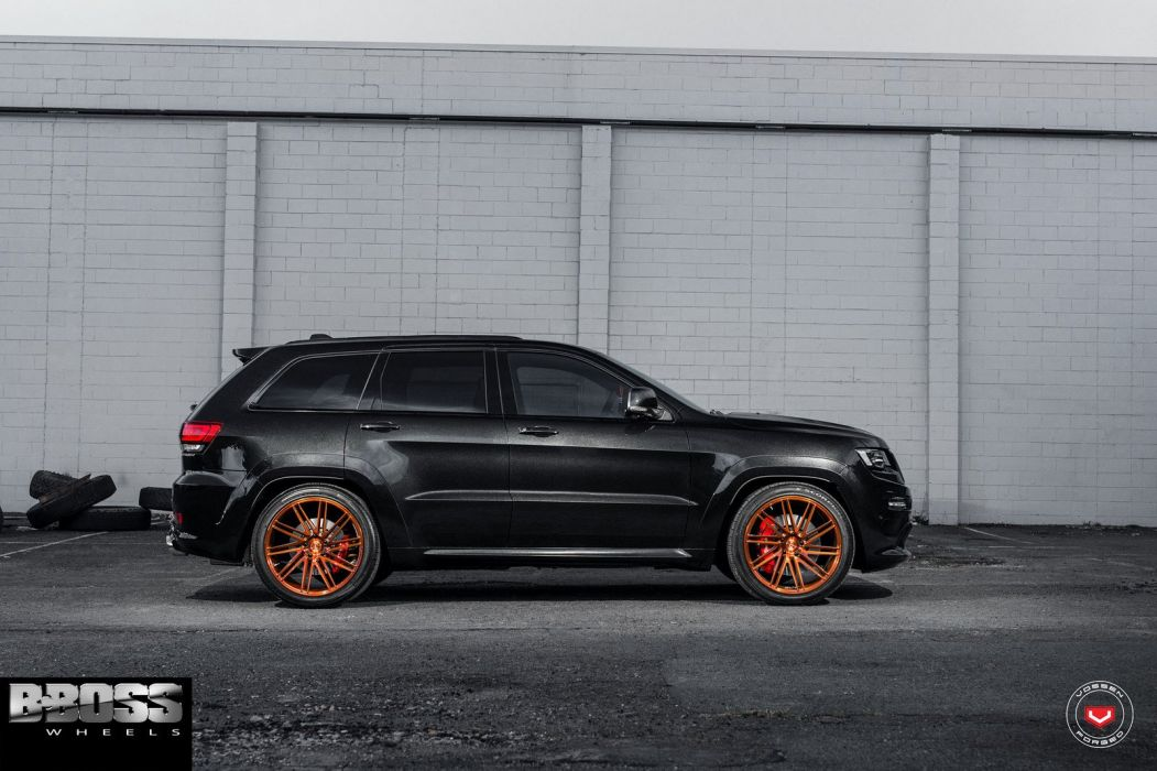 Jeep SRT8 ADV1 wheels suv black cars wallpaper