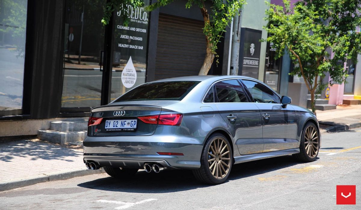 Audi S3 vossen wheels sedan cars wallpaper