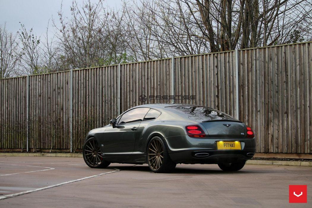 Bentley Continental GT vossen wheels coupe cars wallpaper