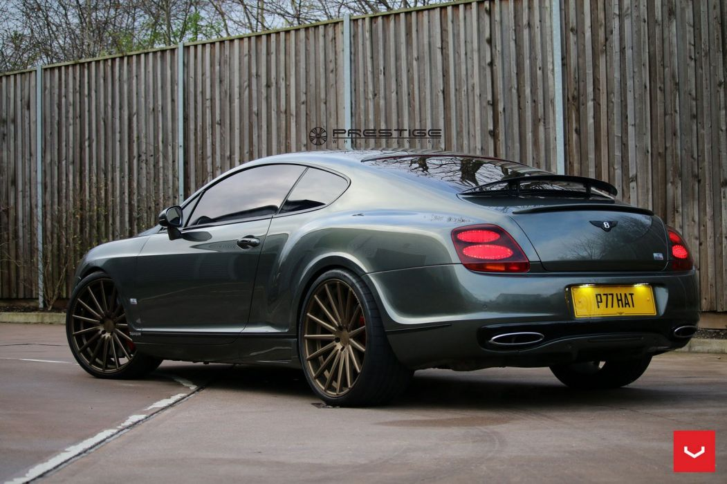 Bentley Continental GT vossen wheels coupe cars wallpaper