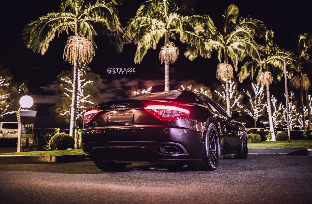 Maserati GT strasse wheels black coupe cars wallpaper