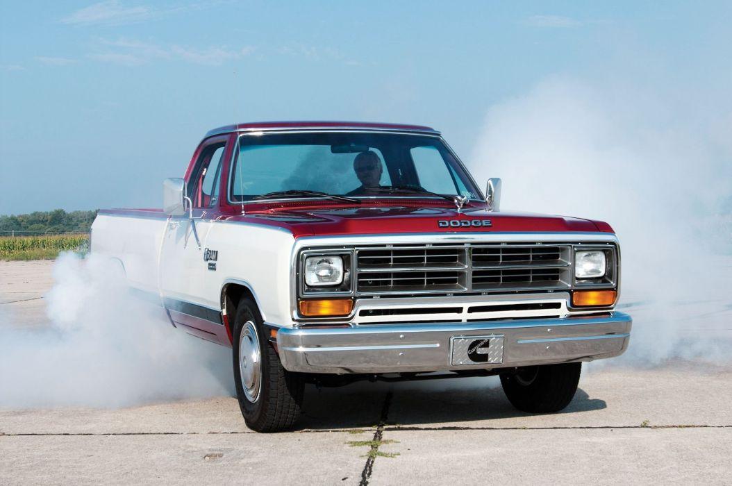 1985 Dodge Ram Cummins D001 Development Truck pickup classic mopar wallpaper