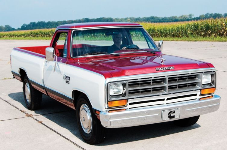1985 Dodge Ram Cummins D001 Development Truck pickup classic mopar wallpaper